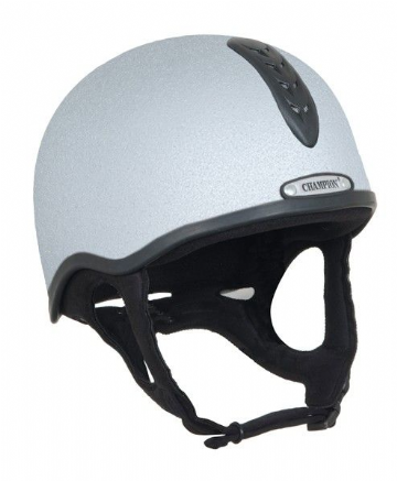 Junior X-Air Plus Helmet - SILVER - Standard: PAS:015: 2011